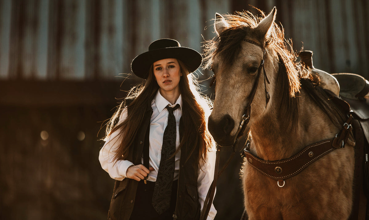 Finding her own Wild West, Mikayla Woodzell