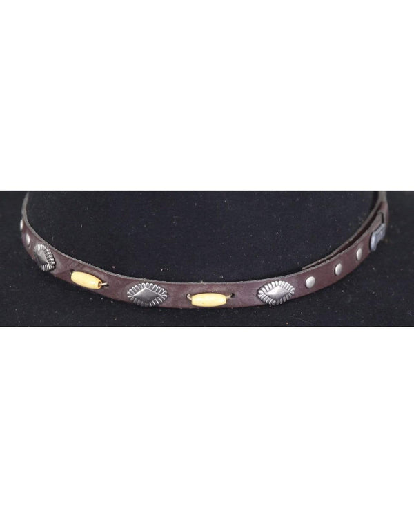 Outback Trading Company Hat Band - RC995 Brown / ONE RC995-BRN-ONE 789043351279