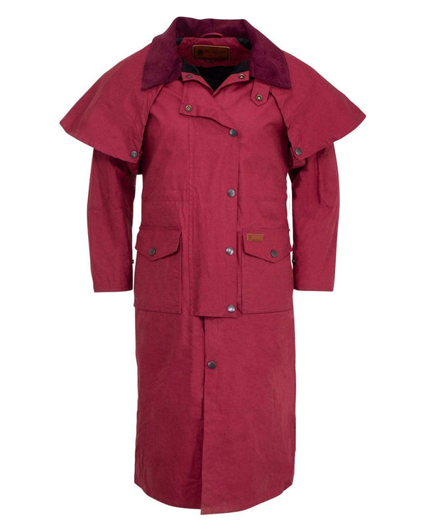Outback Trading Company Ladies Matilda Duster Berry / 1X 2046-BRY-1X 789043369328 Coats & Jackets