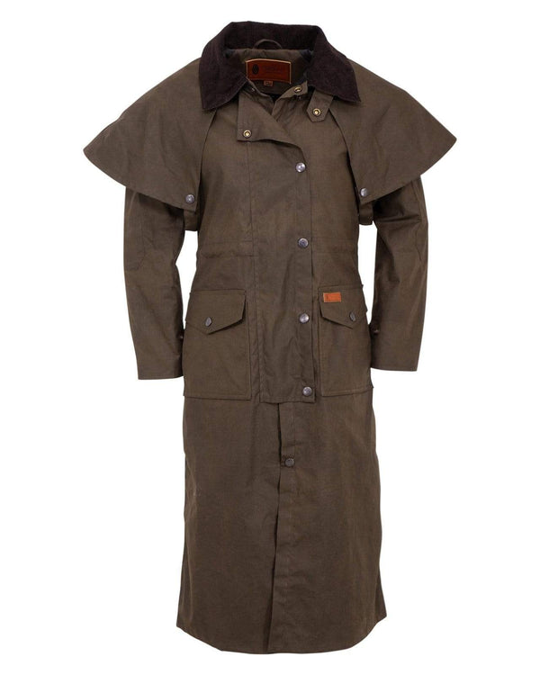 Outback Trading Company Ladies Matilda Duster Bronze / 1X 2046-BNZ-1X 789043369250 Coats & Jackets