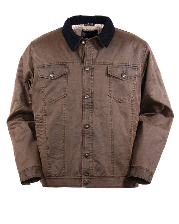 Outback Trading Company Men's Ingham Jacket Brown / MD 29744-BRN-MD 789043367034 Coats & Jackets