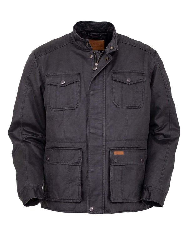 Outback Trading Company Men's Rushmore Jacket Charcoal / MD 29748-CHR-MD 789043367133 Coats & Jackets