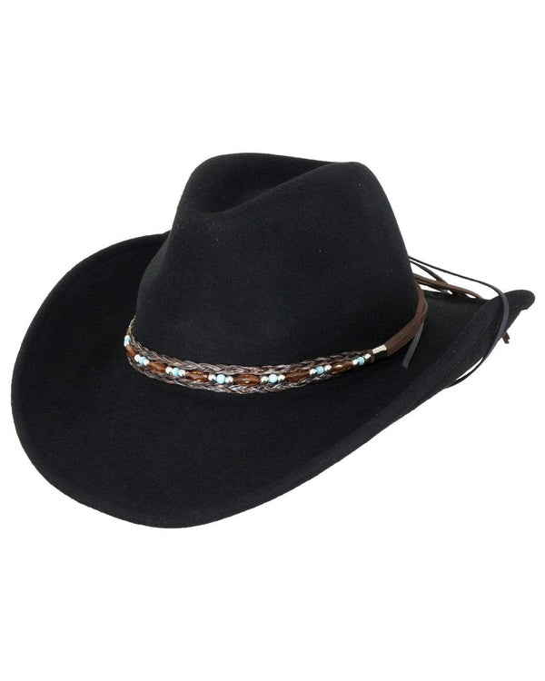 Outback Trading Company Aubrey Black / S/M 1348-BLK-S/M 089043396875 Hats