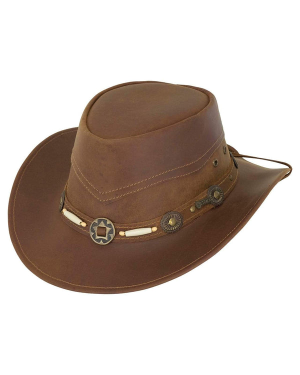 Outback Trading Company Suntroy Cognac / SM 1375-COG-SM 089043221863 Hats