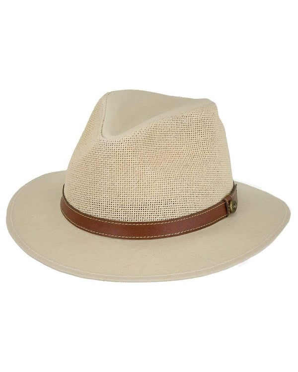 Outback Trading Company Freemantle Natural / S/M 15134-NAT-S/M 789043347081 Hats