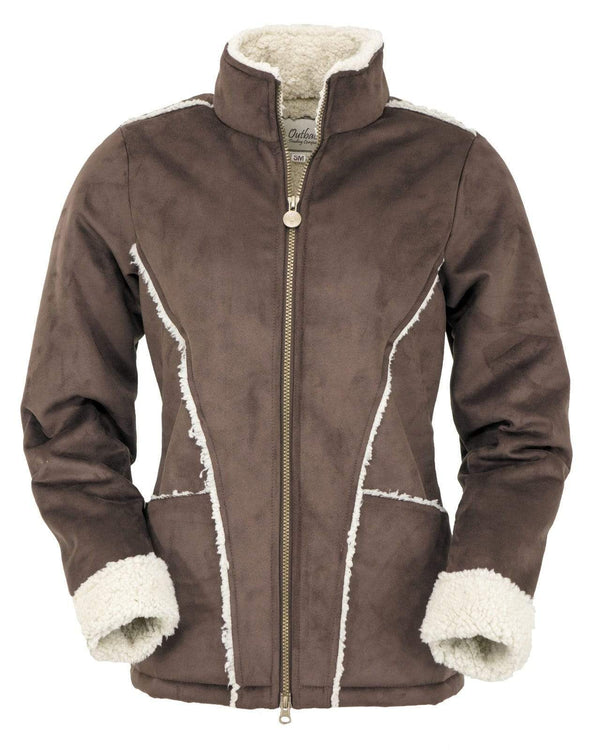 Outback Trading Company Women's Devonport Jacket Brown / 2X 29657-BRN-2X 789043357851 Jackets