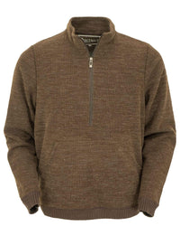 Outback Trading Company Men's Broderick Henley Brown / 2XL/XXXL 48731-BRN-2X3 789043361100 Shirts & Tops