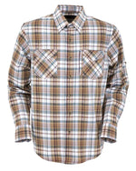 Outback Trading Company Men's Oliver Performance Shirt Brown / MD 42683-BRN-MD 789043355048 Shirts & Tops