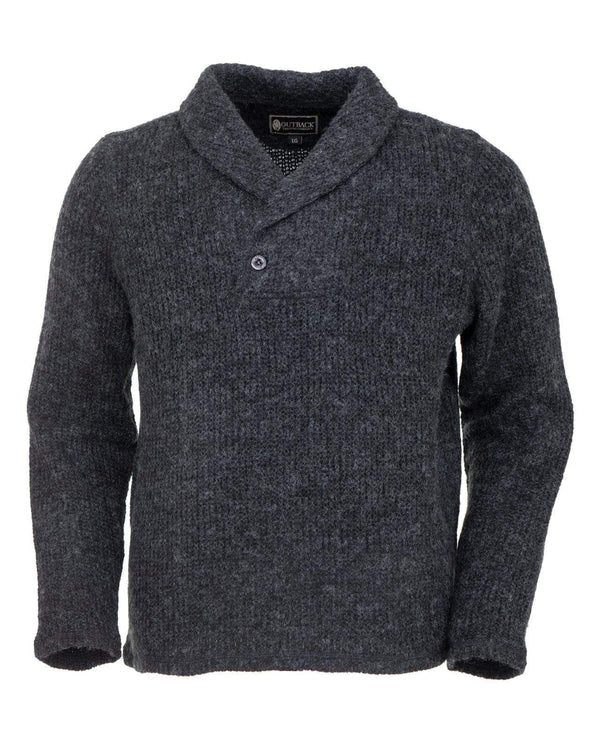 Outback Trading Company Men's Fenton Sweater Charcoal / MD 48733-CHR-MD 789043368512 Shirts & Tops