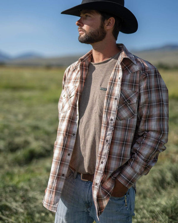 Outback Trading Company Men's Logan Performance Shirt Shirts & Tops