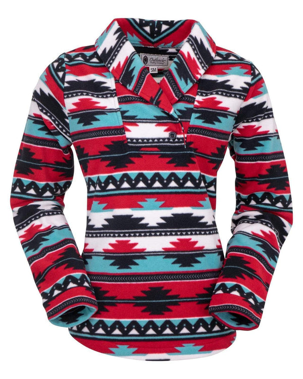 Outback Trading Company Women's Janet Pullover Multi / SM 40195-MUL-SM 789043367645 Shirts & Tops