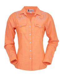 Outback Trading Company Women's Katie Shirt Orange / SM 42231-ORA-SM 789043367713 Shirts & Tops