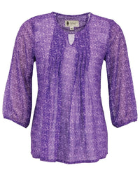 Outback Trading Company Women's Anna Blouse Purple / 2X 42165-PUR-2X 789043354379 Shirts & Tops