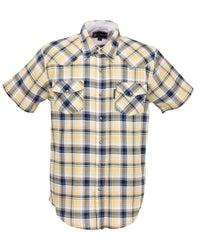 Outback Trading Company Men's Carlton Shirt Yellow / MD 42696-YLW-MD 789043364033 Shirts & Tops