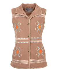 Outback Trading Company Women's Santa Fe Vest Taupe / SM 48721-TAU-SM 789043365344 Vests