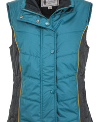 Outback Trading Company Ladies' Beatrix Vest Teal / 2X 29642-TEL-2X 789043356977 Vests