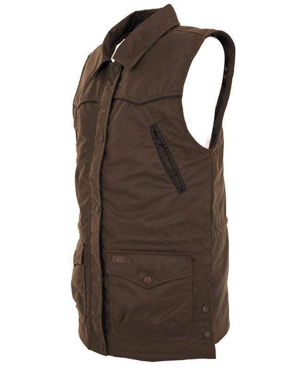 Outback Trading Company Women's Round Up Vest Vests