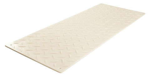 AlturnaMATS 2' x 4' Ground Protection Mats: Clear / S1 (Smooth on One Side)