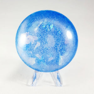Celestial Dome Paperweight - Arctic Sky