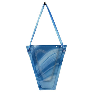 Hanging Wall Vase - Blue Skies