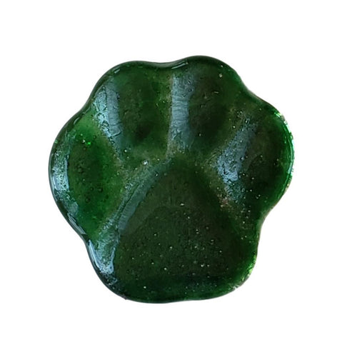 Pawprint Comfort Stone - Green Grass