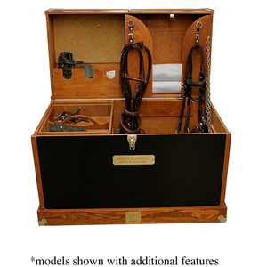 """The Knight"" Tack Trunk"