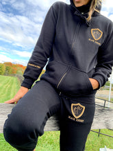 BK ZIP Tracksuit BLACK LADIES