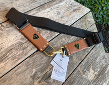 Cheval Stretch Belt Chestnut /Black