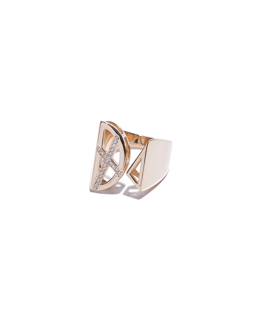 ARC & TRIANGLE RING