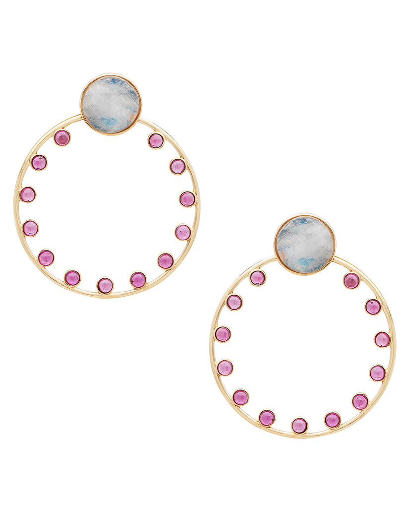 SMALL ORBITA SUNSET HOOPS