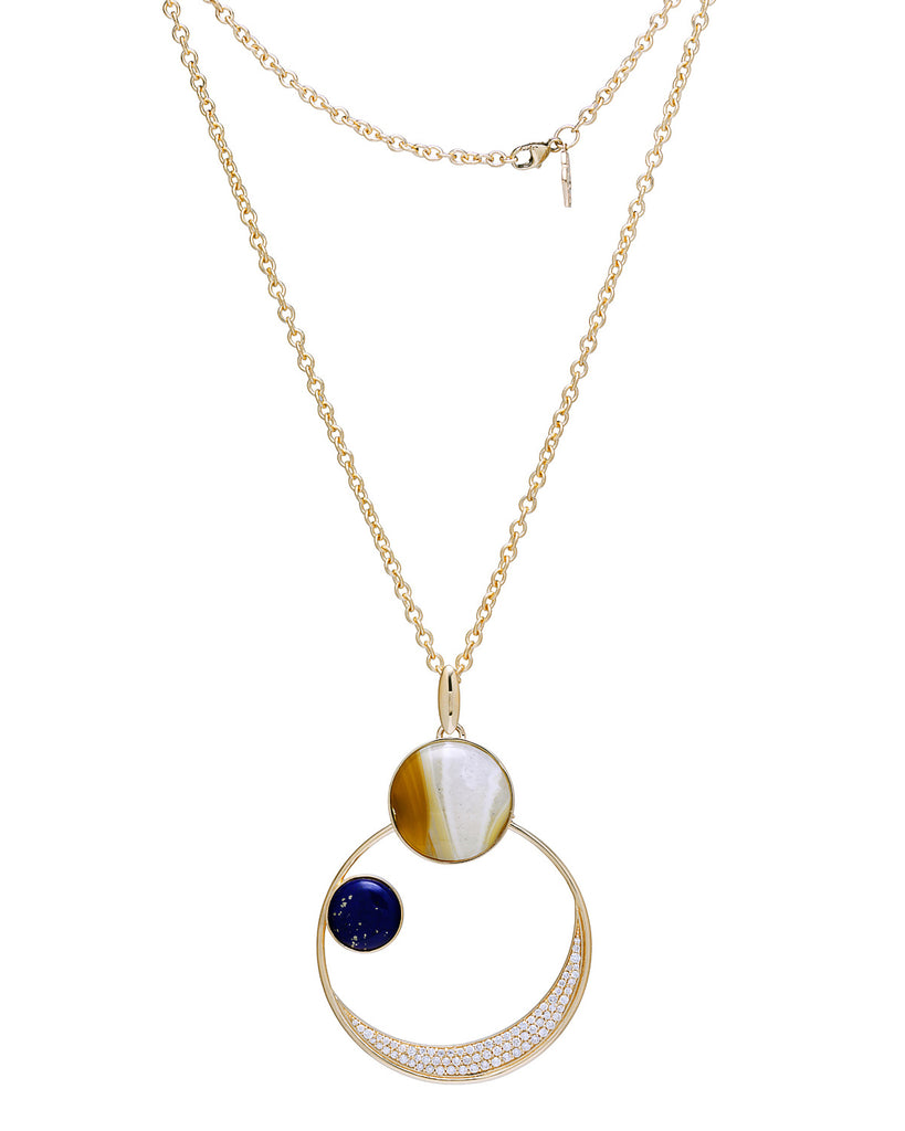 ABI SUN MOON EARTH PENDANT