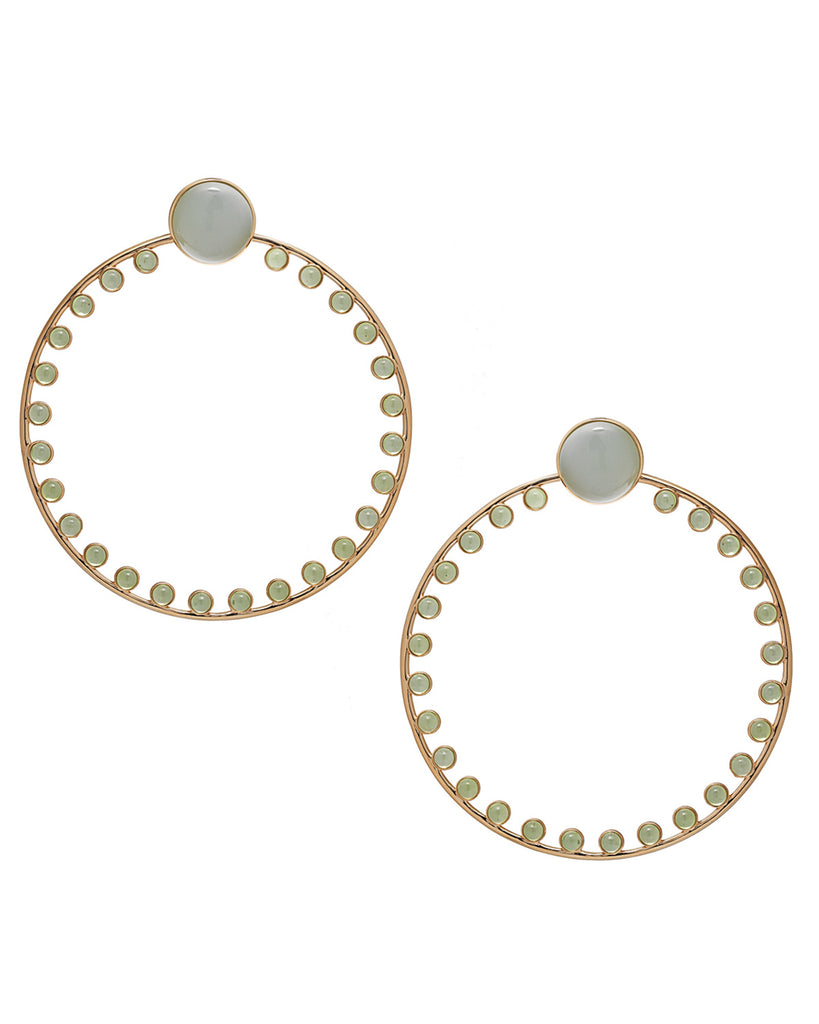 LARGE EAR JACKET CONVERTIBLE HOOPS