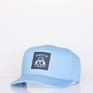 Orvis x Doc Patch Cap-Carolina Blue