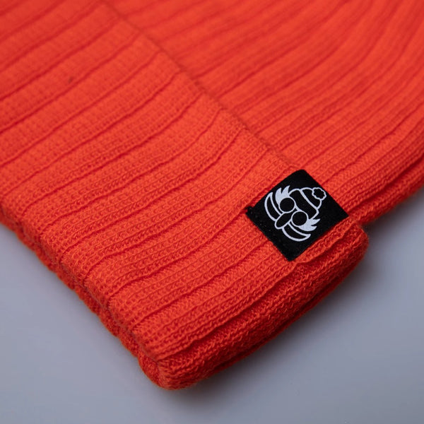 Doc Hunter Orange Cuff Beanie