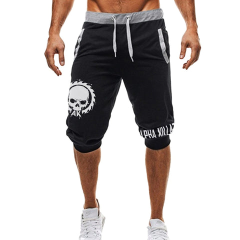 Skull And Saw Shorts