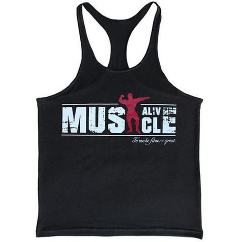 Gym Muscle Tank Top