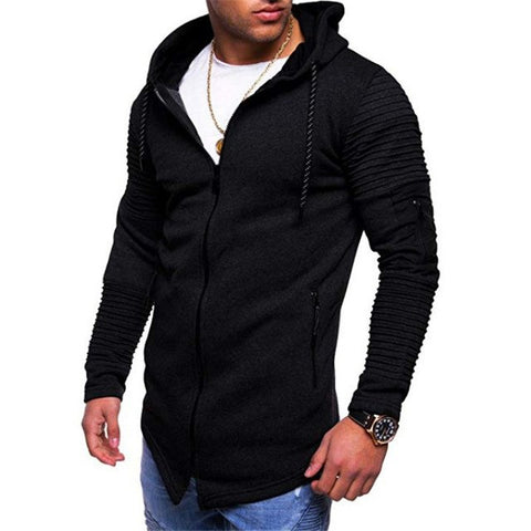 Casual Fitness Zip Up Hoodie