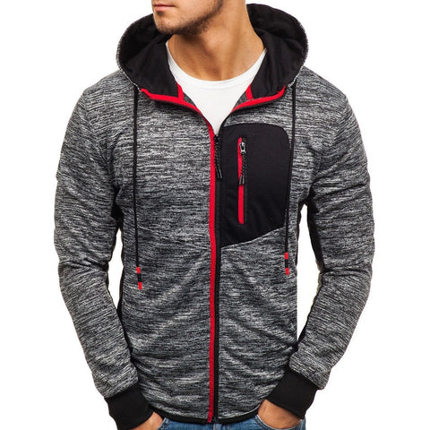 Modern Fashionable Zip Up Hoodie