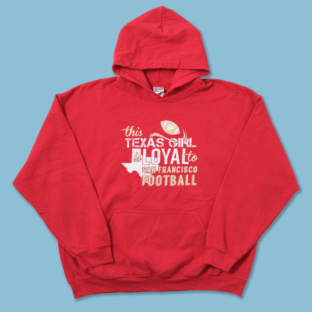 San Francisco Football Hoody XLarge - Double Double Vintage