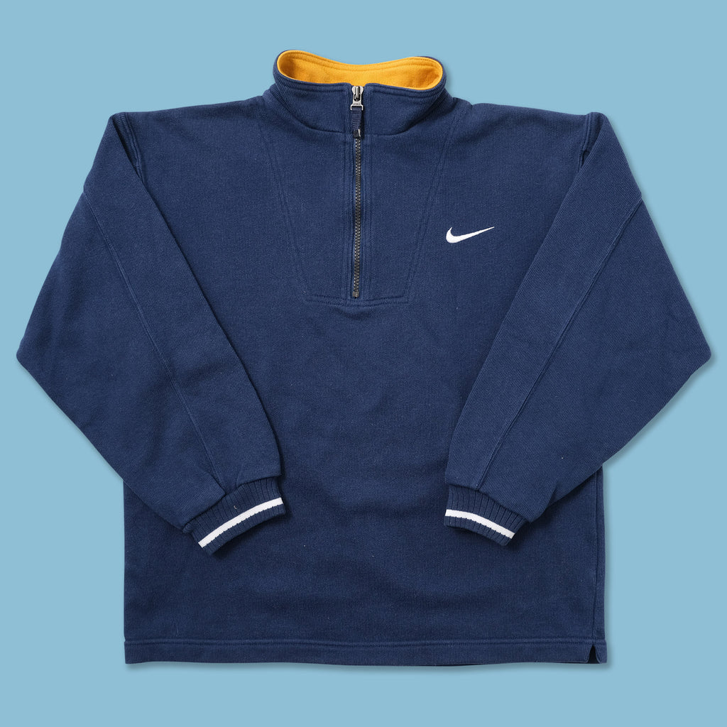 Vintage Nike Women's Q-Zip Sweater XSmall - Double Double Vintage
