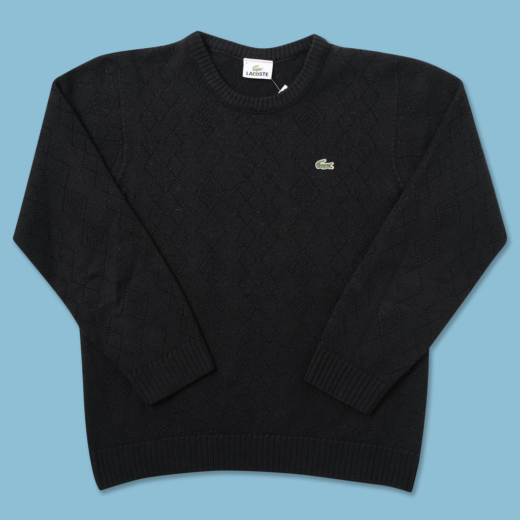 Vintage Lacoste Knit Sweater XSmall - Double Double Vintage
