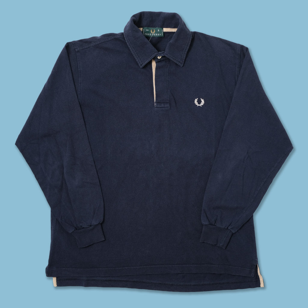 Vintage Fred Perry Long Polo Large