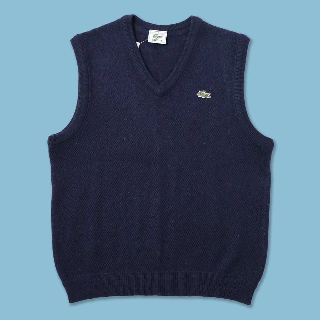 Vintage Lacoste Sweater Vest Medium
