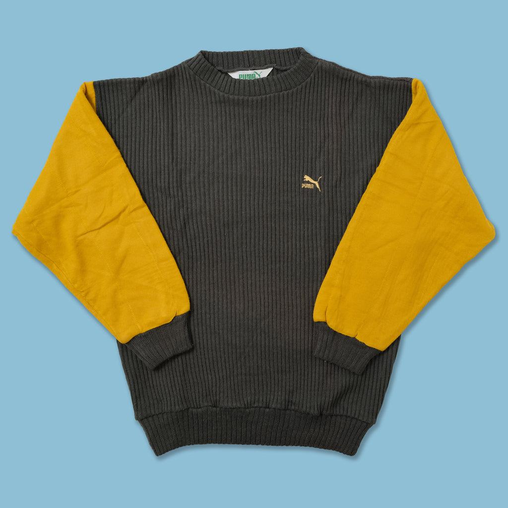 Vintage Puma Knit Sweater Large