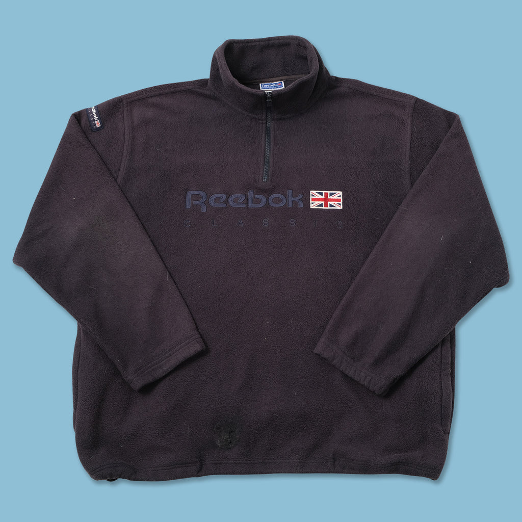 Vintage Reebok Classic Q-Zip Fleece XXLarge