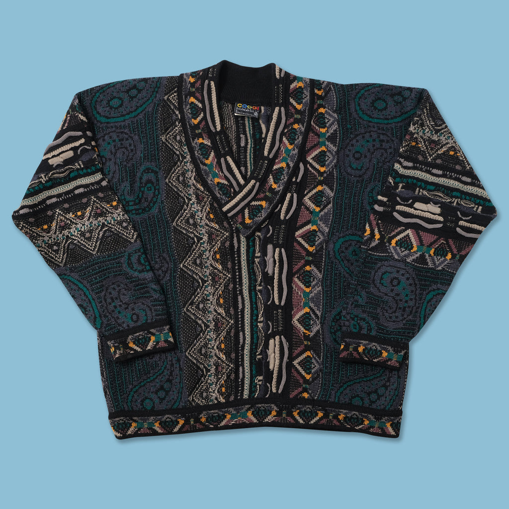 Vintage Coogi V-Neck Sweater XLarge