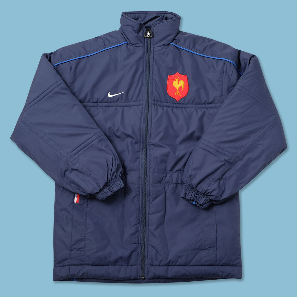 Vintage DS Nike France Rugby Padded Jacket Small