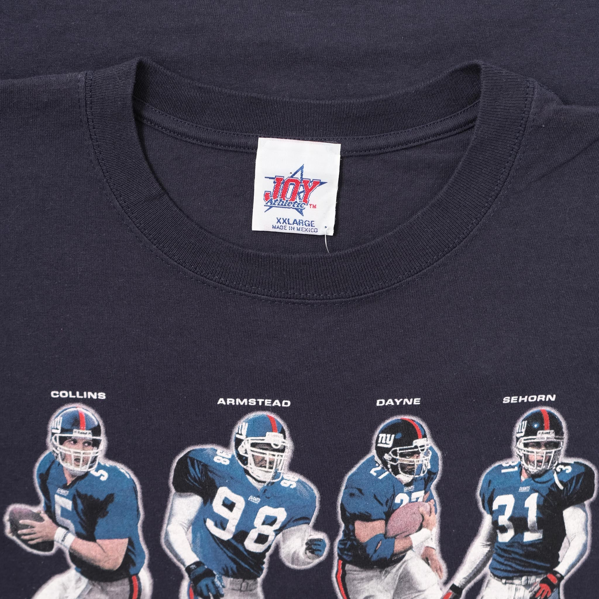 Vintage 2000 New York Giants T-Shirt XXLarge