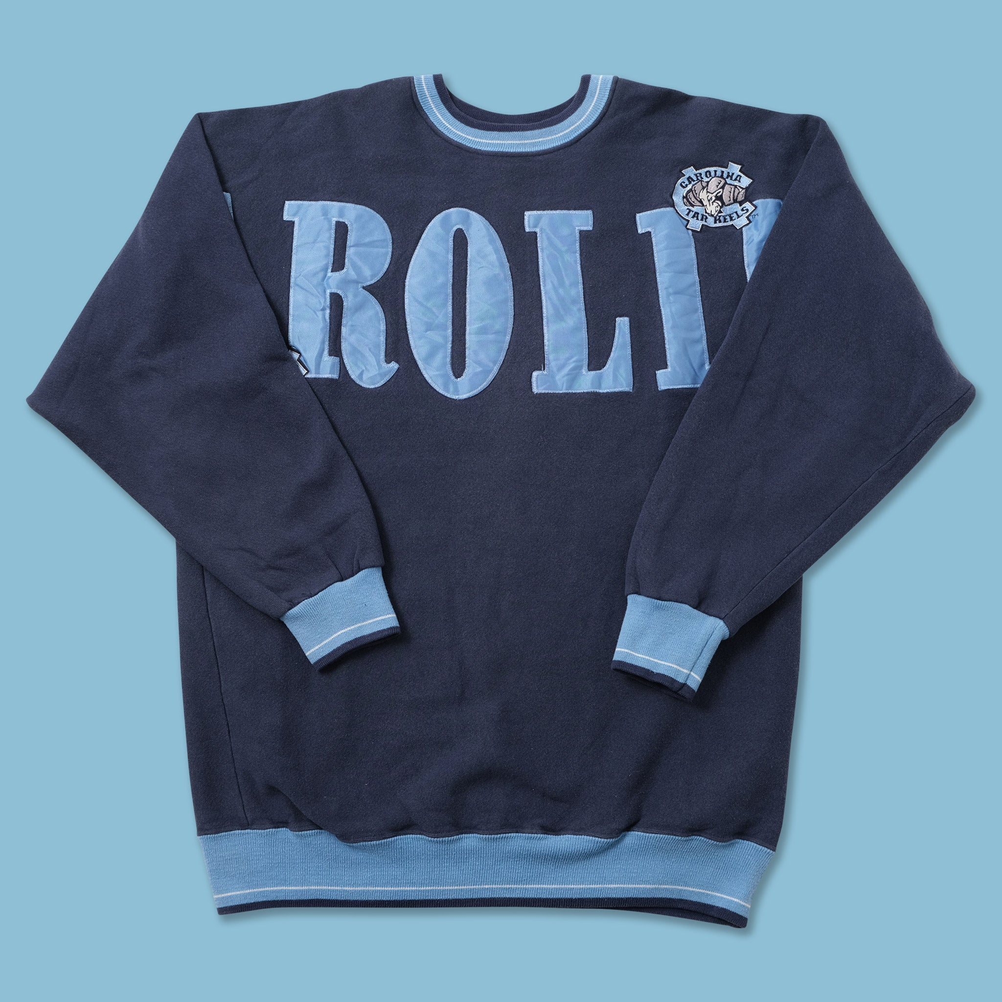 Vintage North Carolina Tar Heels Sweater Large