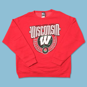 Vintage 2000 Wisconsin Badgers Sweater Medium